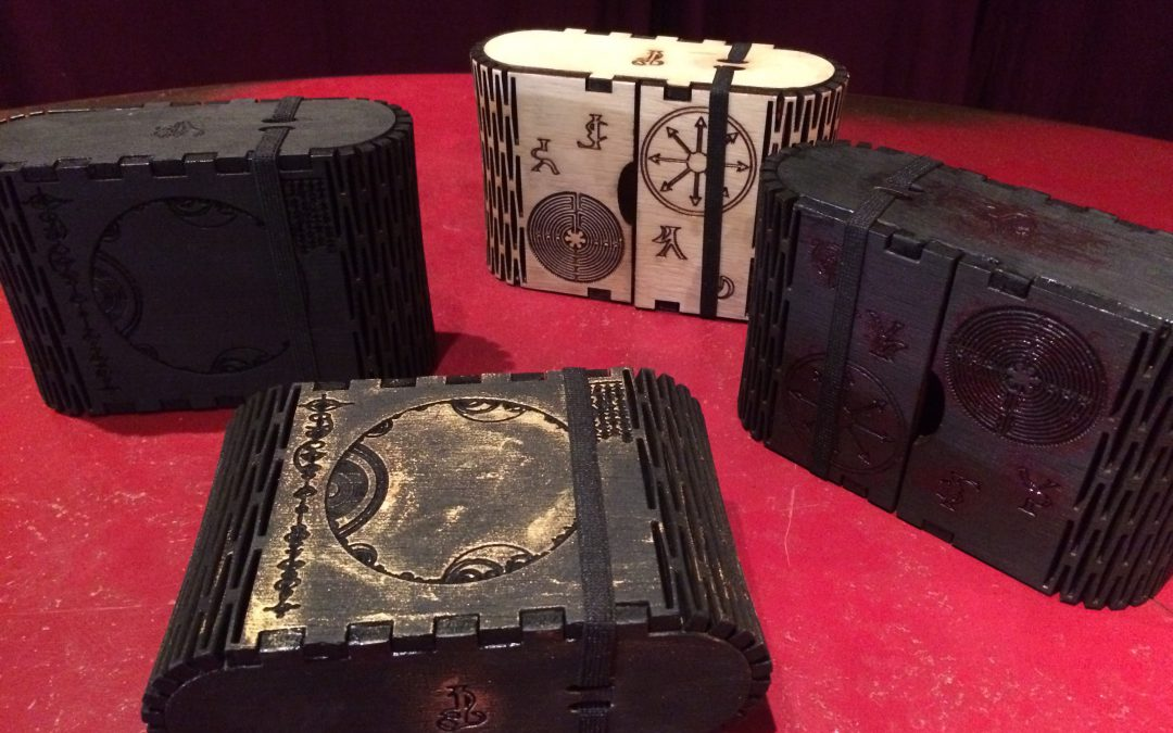 Haunted Basement – Tarot Boxes